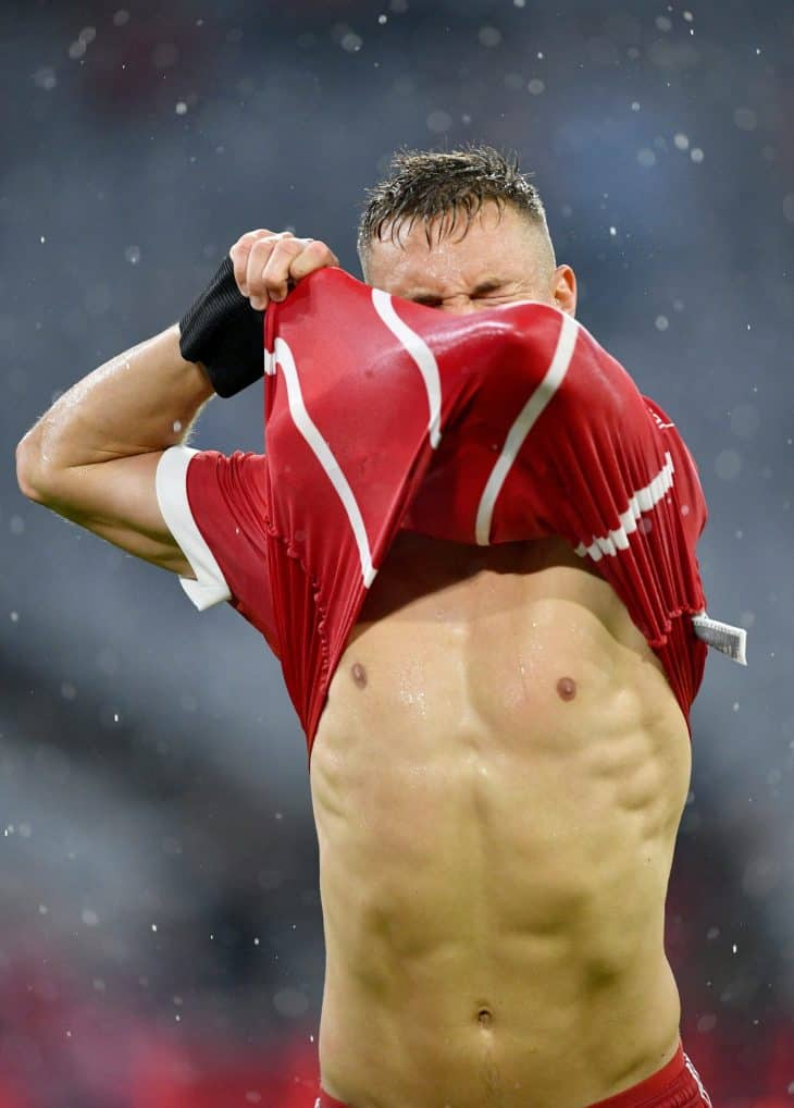 Joshua Kimmich Shirtless