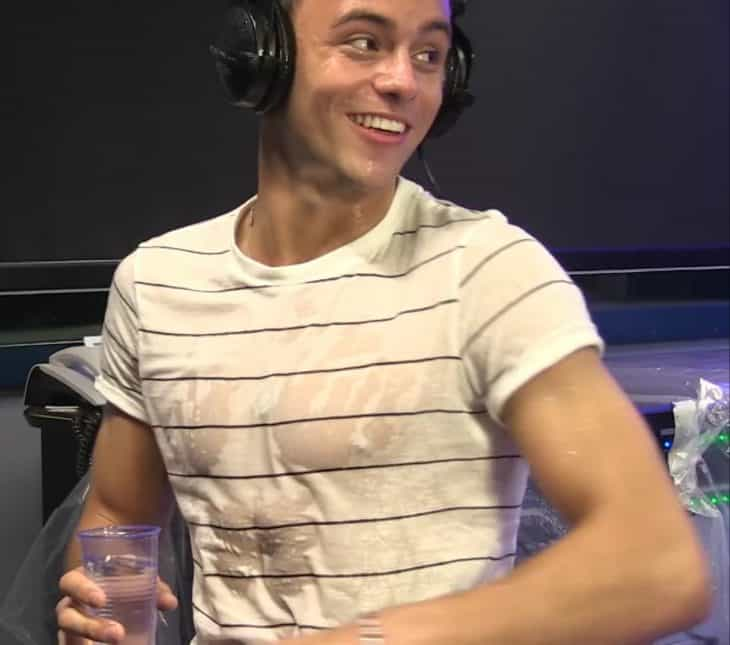 Tom Daley Wet