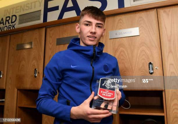Billy Gilmour -  Chelsea Footballer