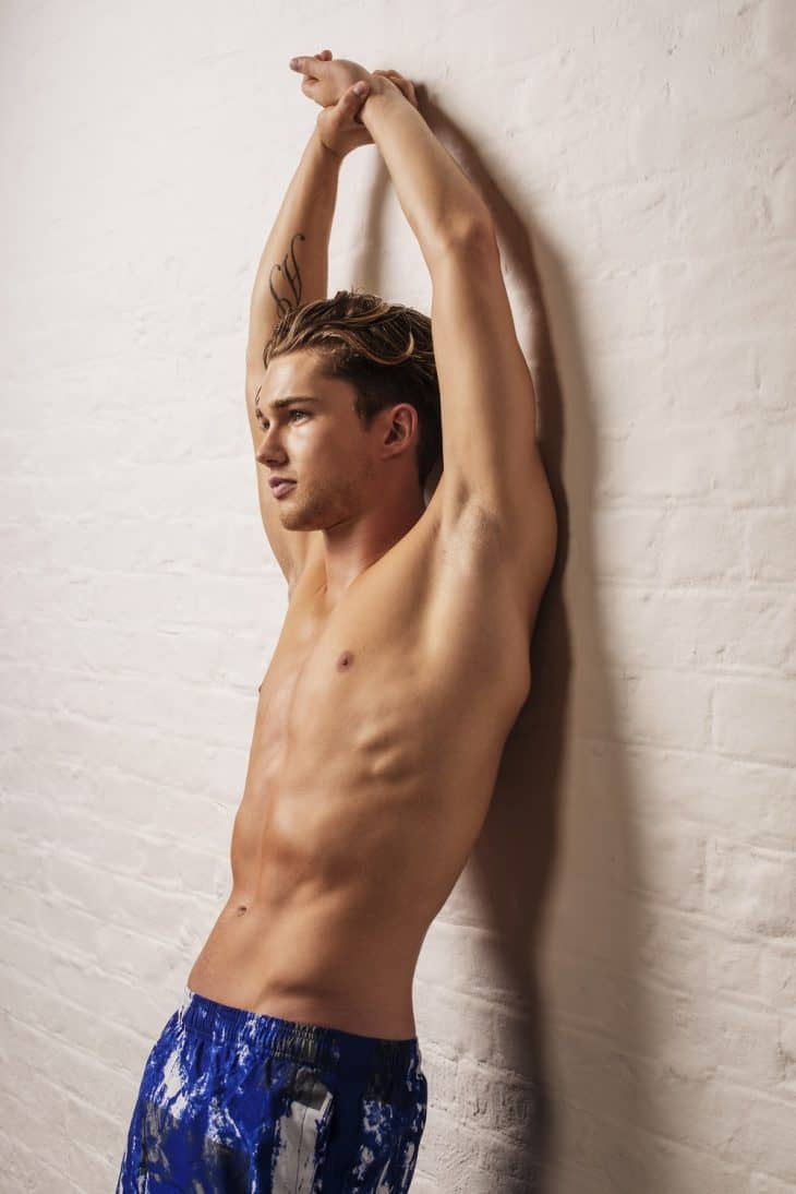 AJ Pritchard Shirtless