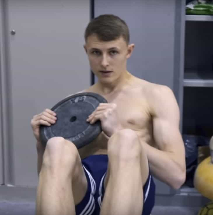 Hayden Skinner Shirtless - British Gymnast