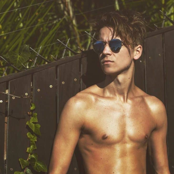 Joe Sugg Shirtless